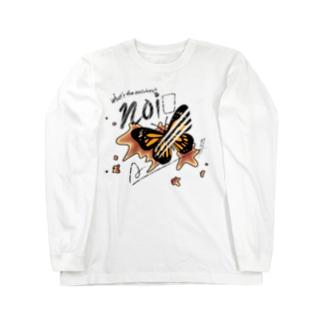 【noix】蝶々scar ver. Long Sleeve T-Shirt