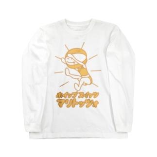 ホイップスイッツマリトッツォ Long sleeve T-shirts