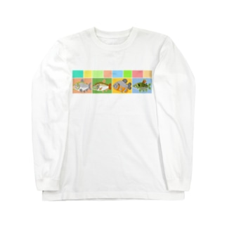 カラシンみに Long sleeve T-shirts