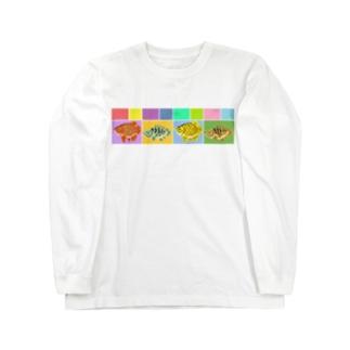 古代魚みに Long sleeve T-shirts