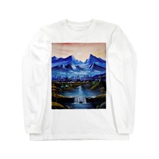 桃源郷 Long sleeve T-shirts