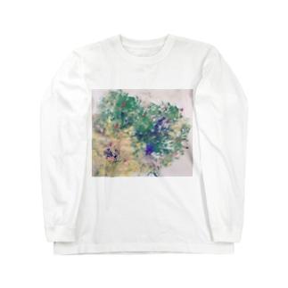 やさしい色 Long sleeve T-shirts