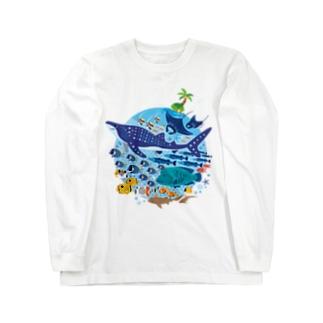 暖かい海の魚たち Long Sleeve T-Shirt
