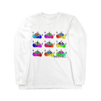 BADテントウいっぱいレインボー Long Sleeve T-Shirt