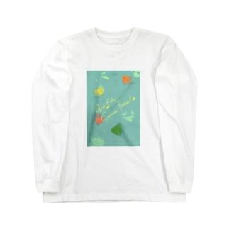 金魚たちの夏休み Long Sleeve T-Shirt