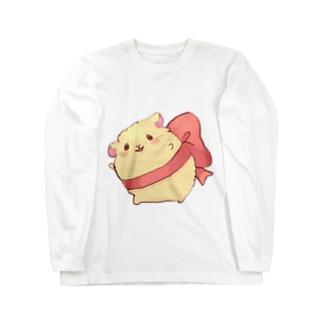 リボンなハムスター❁⃘*.゚ Long Sleeve T-Shirt