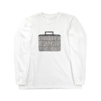 かごトランク Long sleeve T-shirts