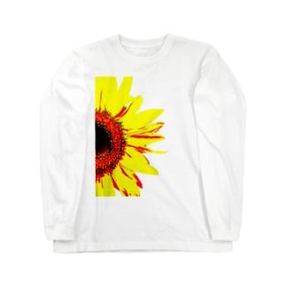 sunflower Long sleeve T-shirts