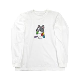 ガミィベア食べるフレブルちゃん。パイドちゃん。 Long Sleeve T-Shirt