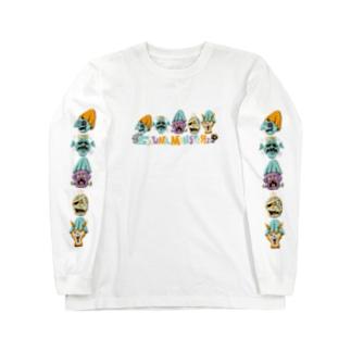 SAUNA ZOMBIES - SAUNA MONSTERz LONG SLEEVE T - Long Sleeve T-Shirt