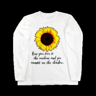 Fabergeのsunflower② Long sleeve T-shirts