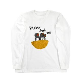 ツバメ「養って」 Long Sleeve T-Shirt