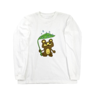 おタヌキ Long sleeve T-shirts