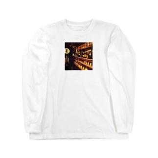 大きな古時計 Long sleeve T-shirts