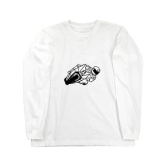 バイクレース Long sleeve T-shirts