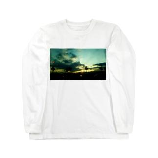 「誰そ彼刻に」 Long sleeve T-shirts