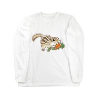 もりもりジュウサンセンジリス Long Sleeve T-Shirt