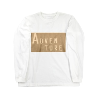 ADVENTURE Long sleeve T-shirts
