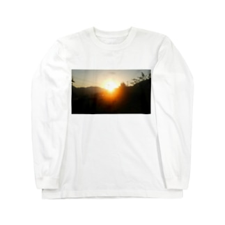 朝焼けA Long sleeve T-shirts