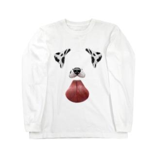 Snapchatの犬 Long sleeve T-shirts