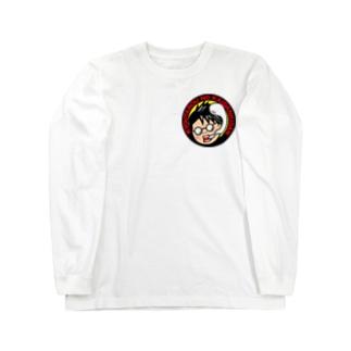 鏡太郎の怪談奇談コラボ企画【魂抜け太郎】 Long sleeve T-shirts