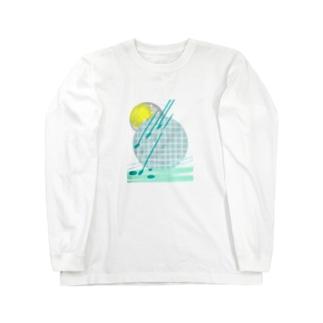 タイル Long Sleeve T-Shirt