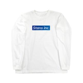 Stans T-shirt blue Long sleeve T-shirts