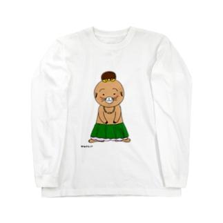 オハナちゃん Long sleeve T-shirts