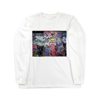 NZ sk8 park の wall art Long sleeve T-shirts