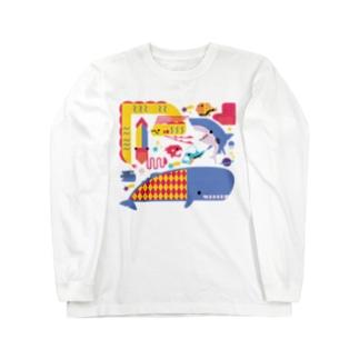 海のトワイライトな生き物 Long Sleeve T-Shirt