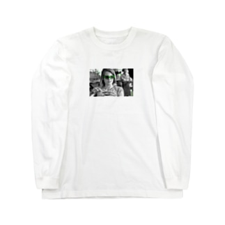 タクシードライバージョディフォスターTシャツ Long sleeve T-shirts