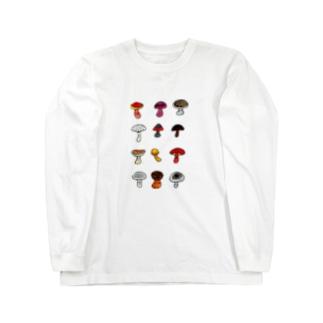 きのこドッサリ Long Sleeve T-Shirt