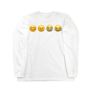 """Emotion"" Tシャツ Long sleeve T-shirts"