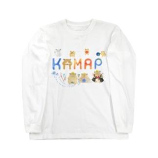 【KAMAP】カラフルKAMAP Long Sleeve T-Shirt