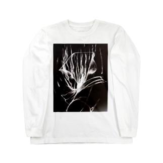 のっぺらぼう Long sleeve T-shirts