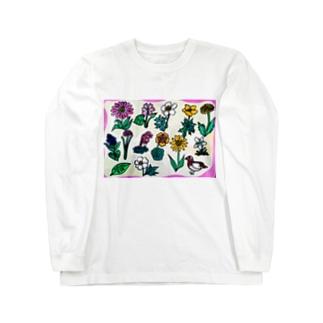 高山植物 Long Sleeve T-Shirt