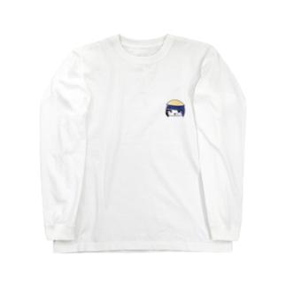 田舎っぺ娘ワンポイント Long sleeve T-shirts