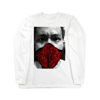 燃える柴 Long sleeve T-shirts