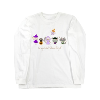 Let's go to the Halloween Party! Long Sleeve T-Shirt