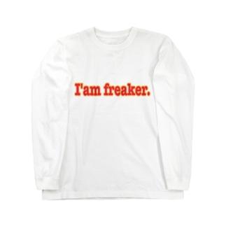 I'am freaker. Long sleeve T-shirts