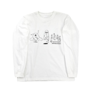MONSTERS Long sleeve T-shirts