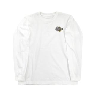 ハクセイハギ Long Sleeve T-Shirt
