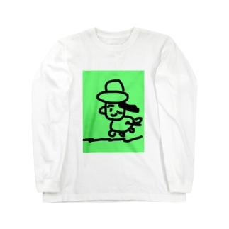 ビンゴちゃん Long sleeve T-shirts