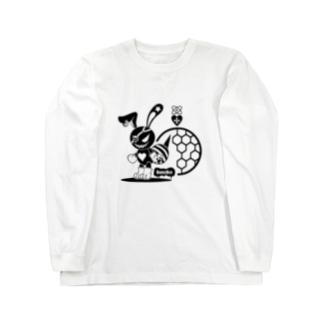 バニービー・アイパッチ Long sleeve T-shirts