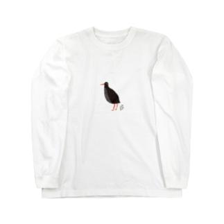 ヤンバルクイナ Long sleeve T-shirts