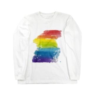 虹の層 Long Sleeve T-Shirt
