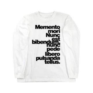 Memento mori Long sleeve T-shirts