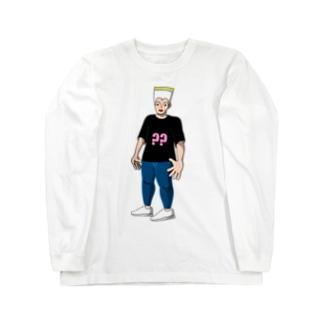 サンド一郎くん Long sleeve T-shirts