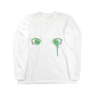 おめめ( Ꙭ) Long sleeve T-shirts