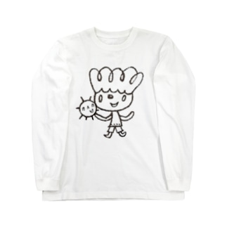 はっぱboy Long sleeve T-shirts